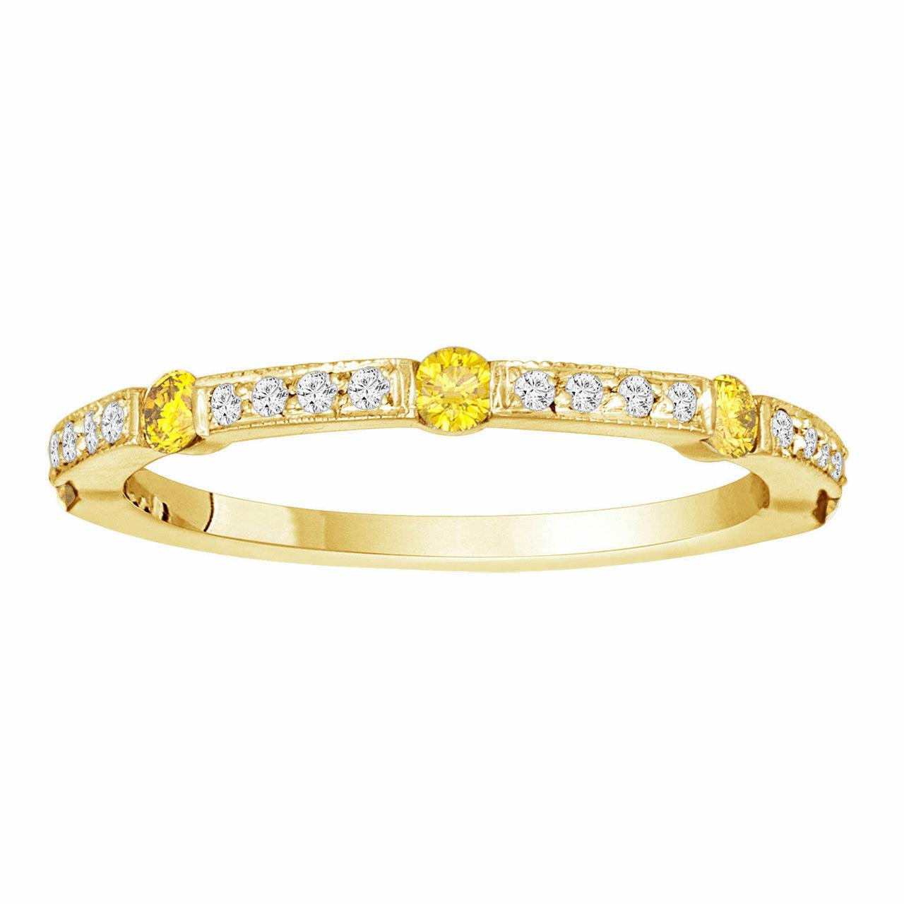 Men S K Yellow Gold Diamond Ring