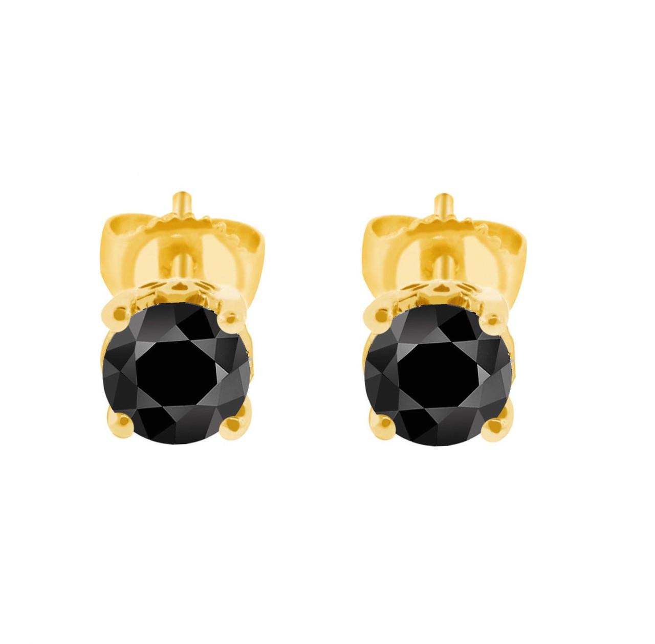 K White Gold   Carat Diamond Stud Earrings
