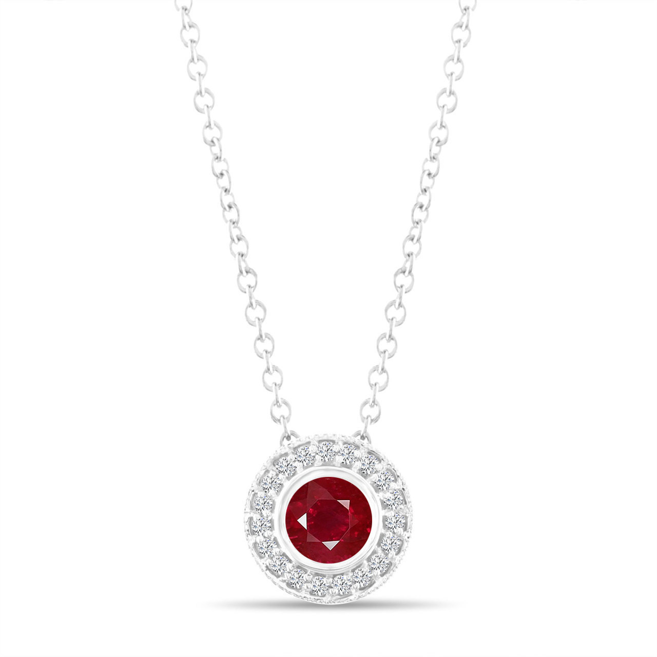 ruby necklace com jewelry dp set sets diamond with created heart silver amazon earrings and sterling pendant ring box