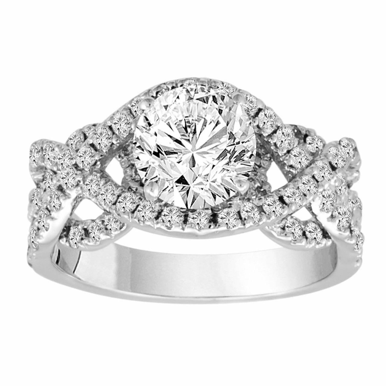 04 Carat Bands: 2.04 Carat Diamond Engagement Ring, Gia Certified Unique