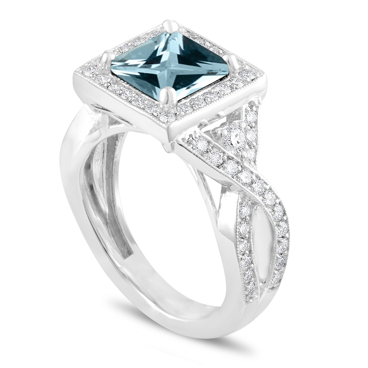 ways dsc burst diamond cocktail ring star sz bold ctw products