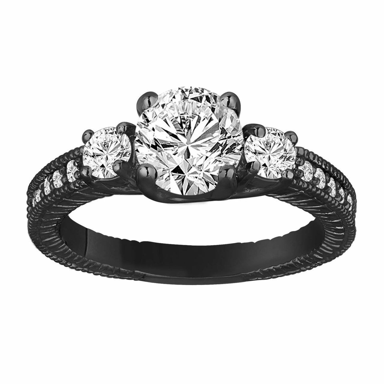 engagement pave pav jewellery a rings side micro round three with ring stone
