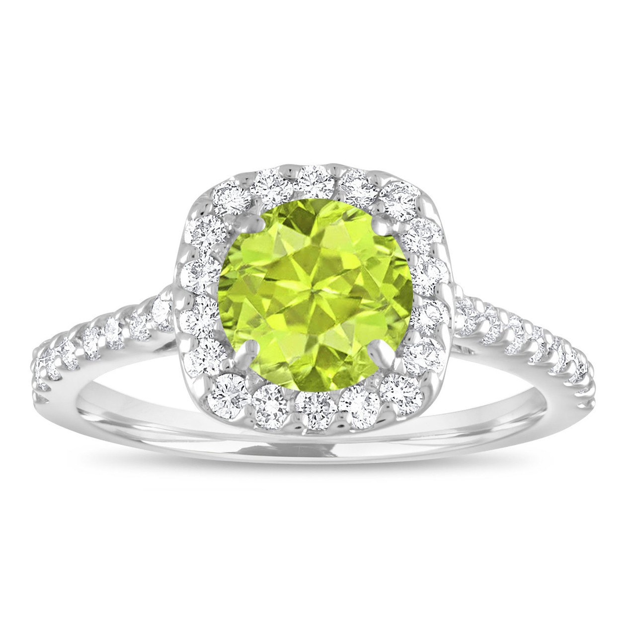 rings double in white stackable ring peridot diamond engagement gold