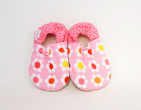Flower Power Bison Booties 18-24 months