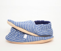 Linton Flannel Bison Booties Slippers