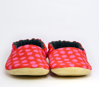 Strawberry Bison Booties Slippers