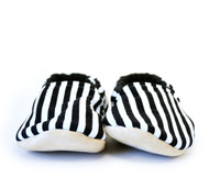Stripe Bison Booties Child Slippers