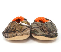 Camouflage Bison Booties 6-12 months