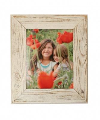 Antique White Reclaimed Wood Frame