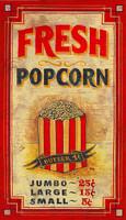 Vintage Signs - Fresh Popcorn