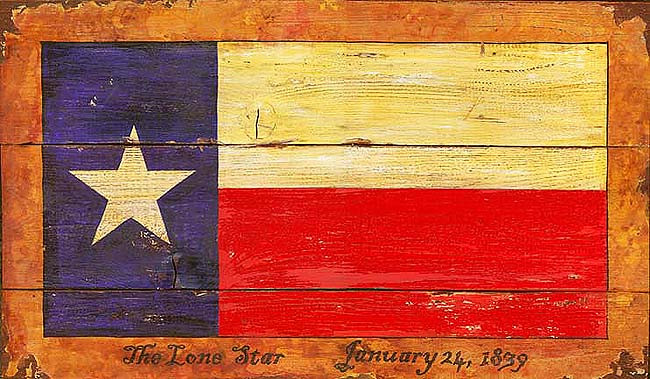 vintage texas decor