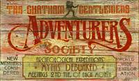 Vintage Signs - Adventurers Club