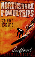 Vintage Beach Signs - Powertrips Surfing