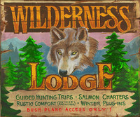 Vintage Sign - Wilderness Lodge
