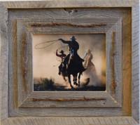 11x14 Laramie Style Rustic Barnwood Frame