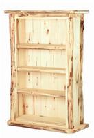 Log 3 Shelf Bookcase