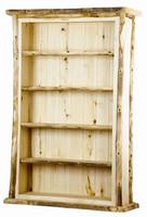 Aspen Log Bookcase - 4 Shelves