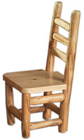 Log Dining Chair - Rustic Side Chair