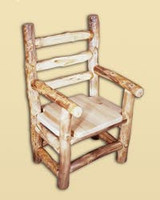 Log Captain's Chair