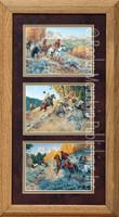 Now Ya Show, Clark Kelley Price Cowboy Art Framed Set