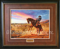 "Limited Edition Print - ""The Blowup"" Tim Cox Western Art"