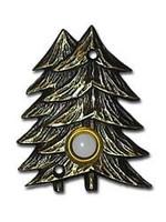 LARGE Twin Pines Doorbell