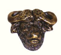 Cape Buffalo Cabinet Hardware Knob