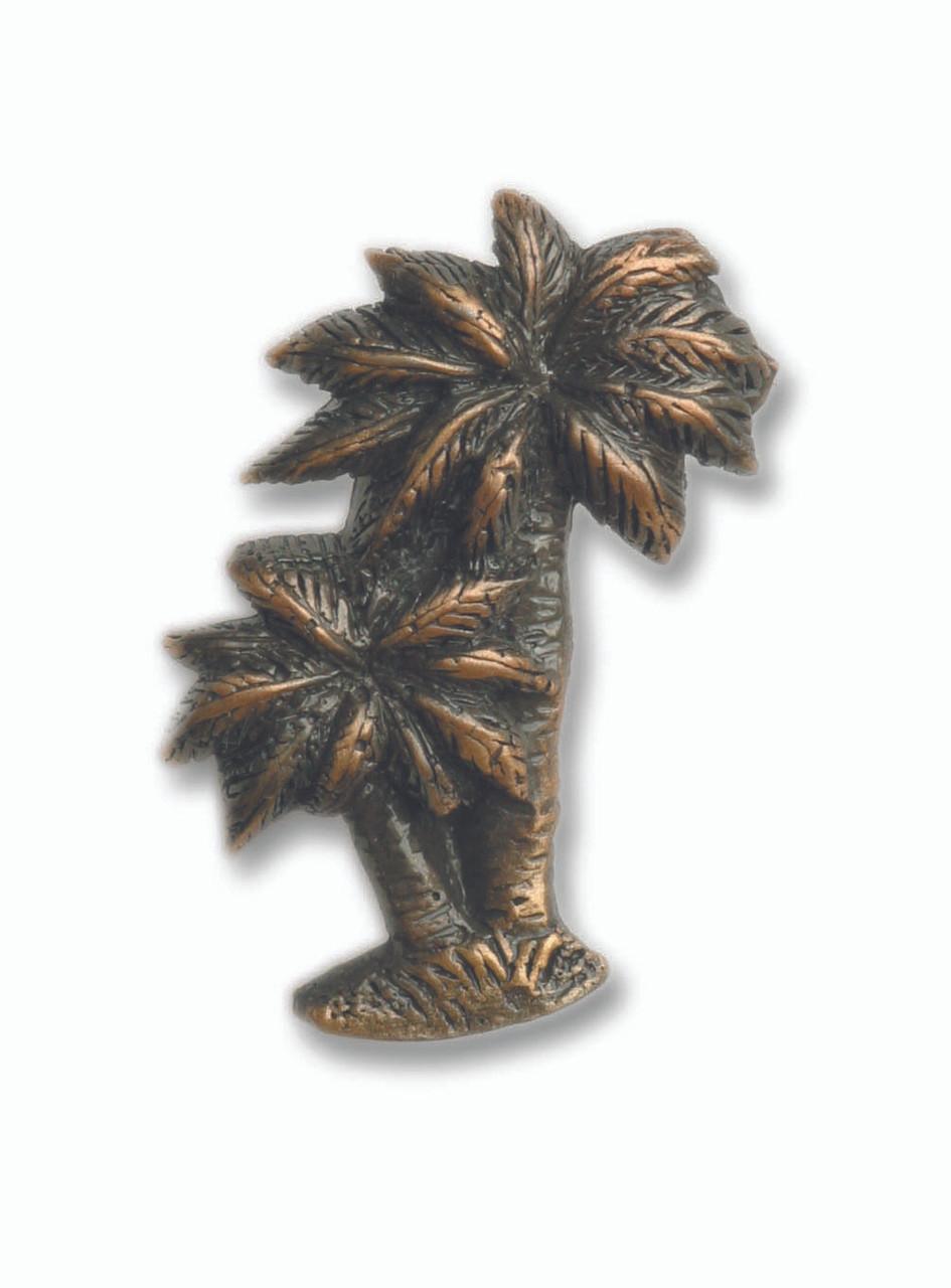 Cabinet Hardware Palm Trees Drawer Pull Knob