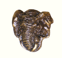 Elephant Cabinet Hardware Knob - Right Facing