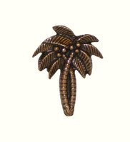 Palm Trees Cabinet Hardware Knob 3297