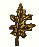 Oak Leaf Cabinet Hardware Knob