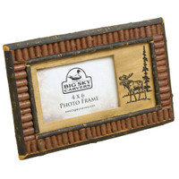 Rustic Red Twig Accents, 4x6 Photo Frame