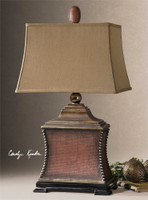 Uttermost Pavia Red Table Lamp