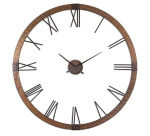Antique Oversized Wall Clock- Amarion