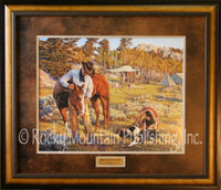 "Limited Edition Print - ""More than Just a Horse"" Tim Cox Cowboy Art"