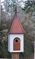 French Villa Birdhouse.