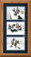 Snowball Fights, Robert Duncan Country Wall Art Framed Set