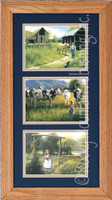 Children in Pasture, Robert Duncan Country Farm Print Set