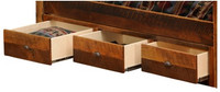 3 Drawer Dresser Add-on - Barnwood Underbed