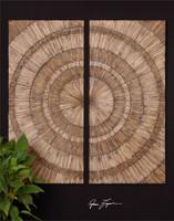 Uttermost Lanciano Wood Wall Art