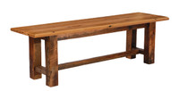 Reclaimed Barnwood Bench