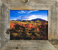 "Rustic Picture Frame - Homestead Series 2"" Western Reclaimed Barnwood Frame"