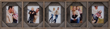 4x6 Collage Picture Frame - 5 Openings and Cornerblocks