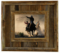 Durango Rustic Barnwood Picture Frame, 8x10