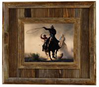Durango Rustic Barnwood Picture Frame, 11x14