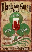 Vintage Irish Pub Sign