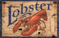Vintage Lobster Sign