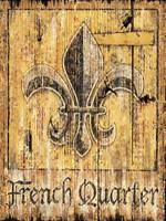 Vintage French Quarter Sign