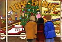 Vintage Toy Shop Sign