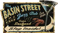 Vintage Jazz Club Sign